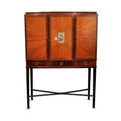 Art Deco Cabinet in the Manner of Alban Chambon