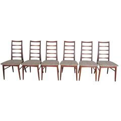 Four Teak Dining Chairs by Niels Kofoed
