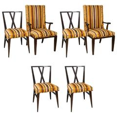 Set of Six Dining Chairs by Charak Modern for Tommi Parzinger