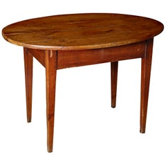 Antique 19th Century Cherry Oval Table