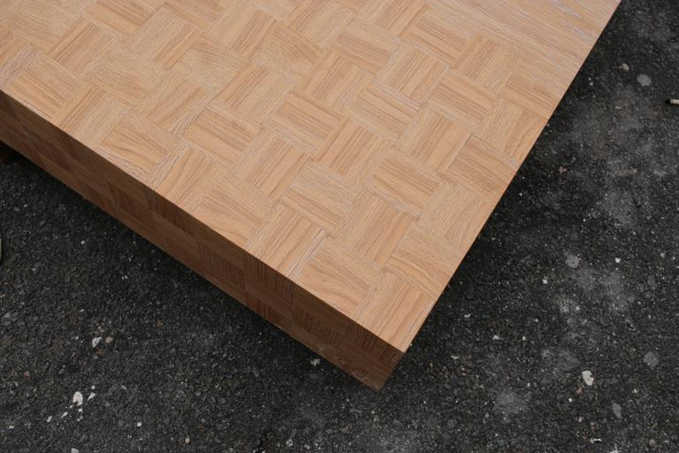 Quadra Oak Coffee Table 3