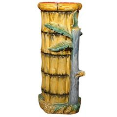 Majolica or Bamboo Umbrella or Stick Stand by Onnaing