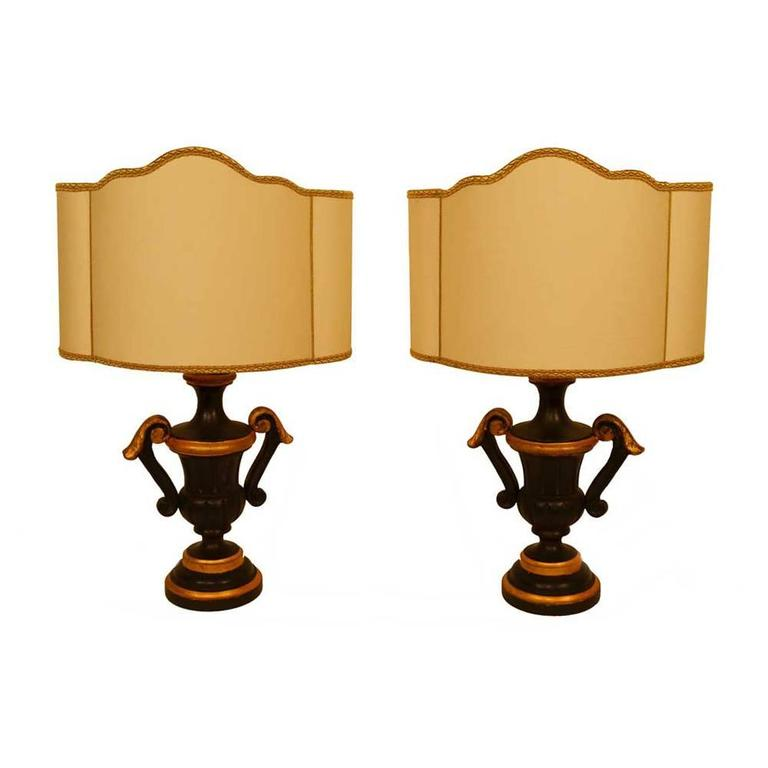 French Lamps, Pair For Sale