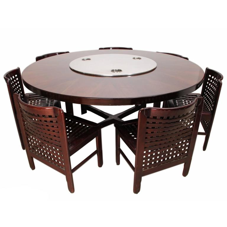 beautiful italian dining room set from the early 1970s for sale at 1stdibs