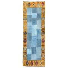 Modernist Turkish Patchwork Rug