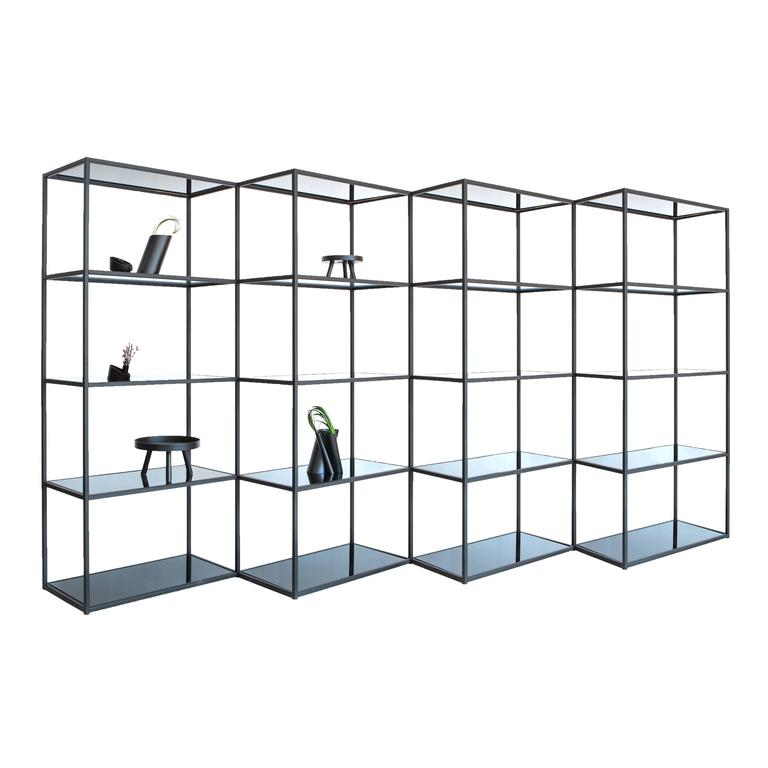 Fferrone zig zag bookcase at 1stdibs - Etagere zig zag ...