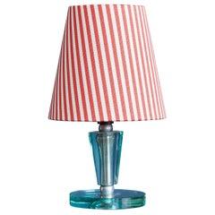 Vintage Italian Murano Glass Table Lamp