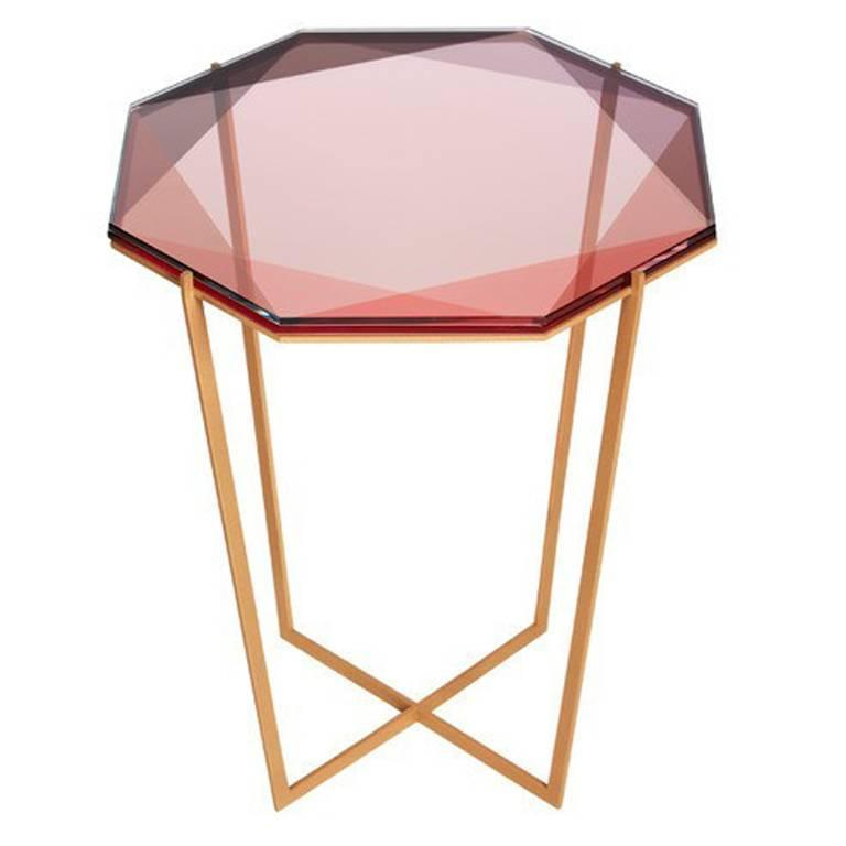 Debra Folz Gem Side Table At 1stdibs