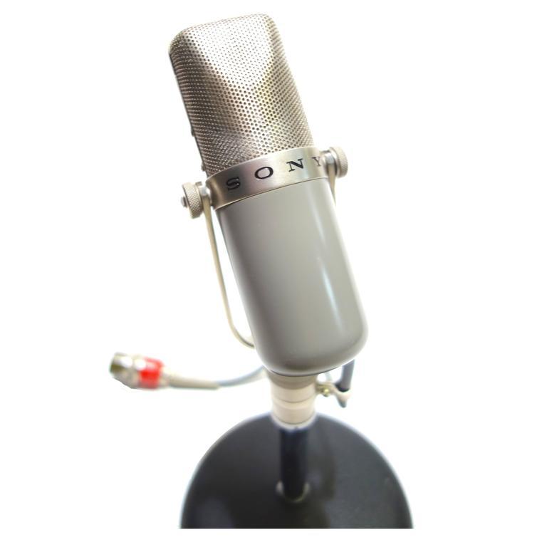 Fine Vintage Studio Microphone Circa 1958 Sony Iconic