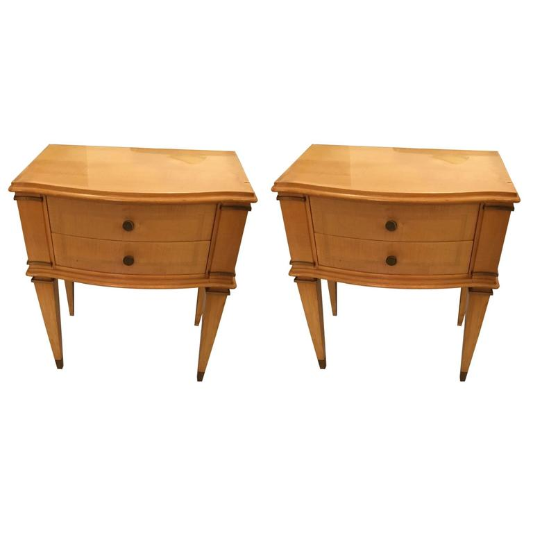 Pair of Andre Arbus Style End Tables, circa 1940
