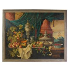 Still Life Oil on Canvas Painting by William Skilling