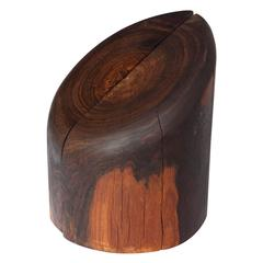 Don Shoemaker Rosewood Bookends