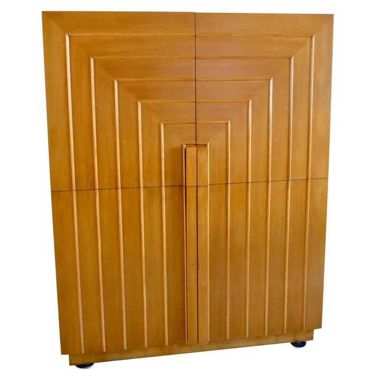 Classic T. H. Robsjohn-Gibbings Storage Cabinet or Sideboard for Widdicomb, 1950