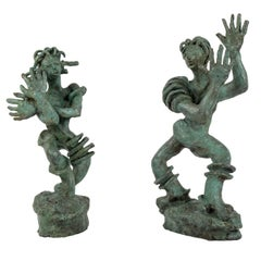 Germaine Nordmann Bronze Sculptures, circa 1940