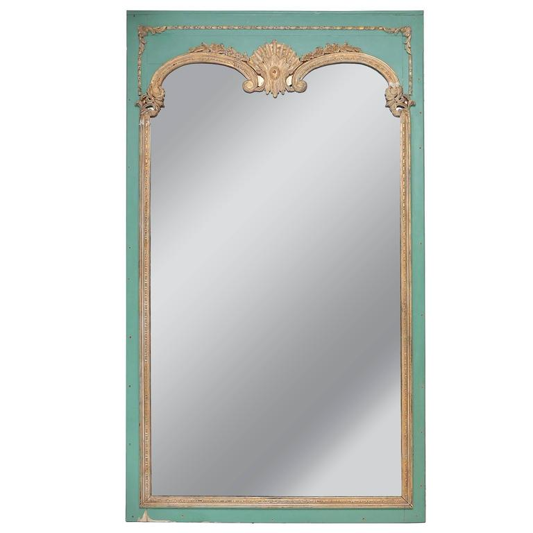 Oversize decorative theme park mirror at 1stdibs for Decorative floor length mirrors