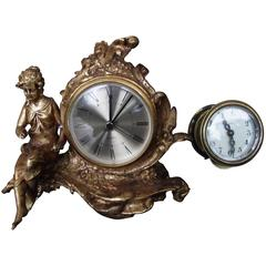 Antique Clock by New Haven Clock Works
