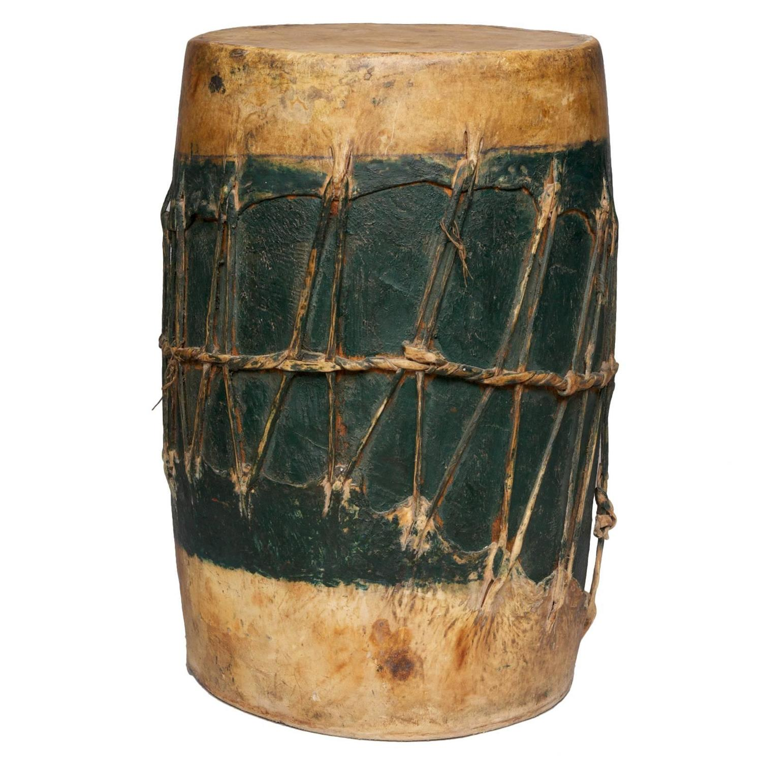 Pueblo Dance Drum Circa 19th Century At 1stdibs