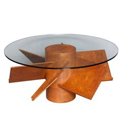 Samuel Marx Coffee Table with Book Shelves