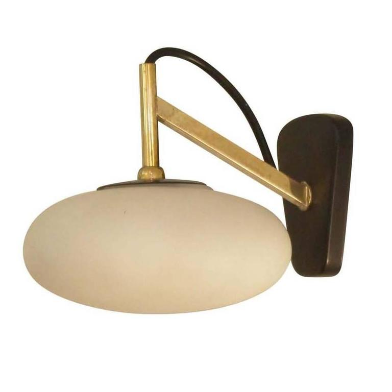 Arredoluce Style Sconce, Italy, 1960s For Sale