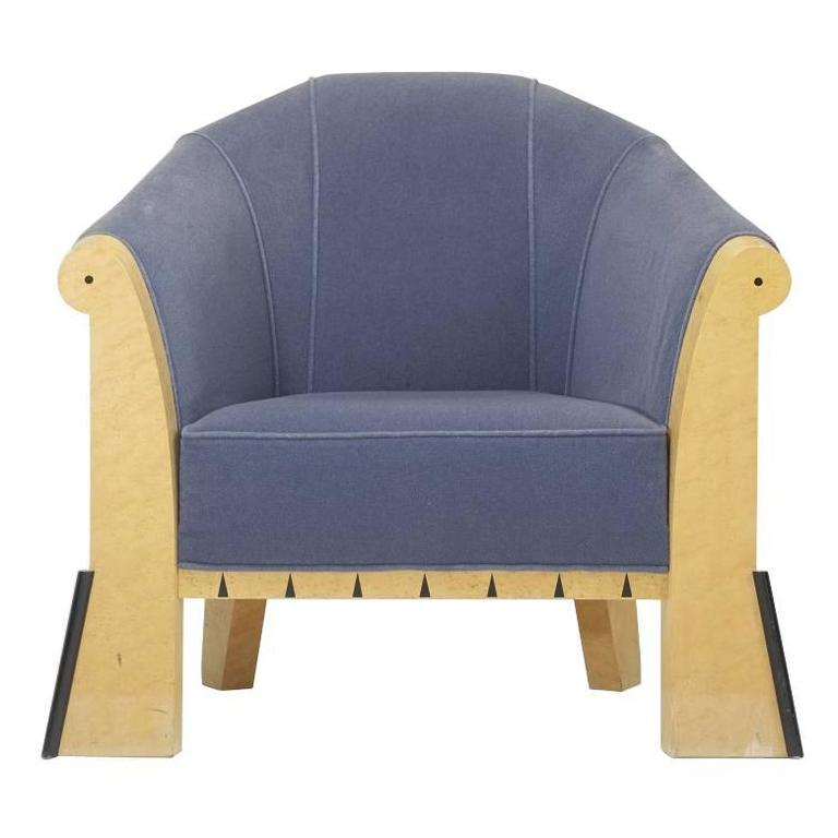 Genial Michael Graves Lounge Chair, 1980 For Sale