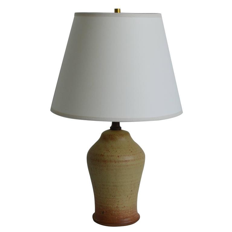 Vintage Studio Pottery Lamp