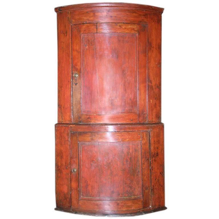 Swedish Corner Cabinet For Sale at 1stdibs