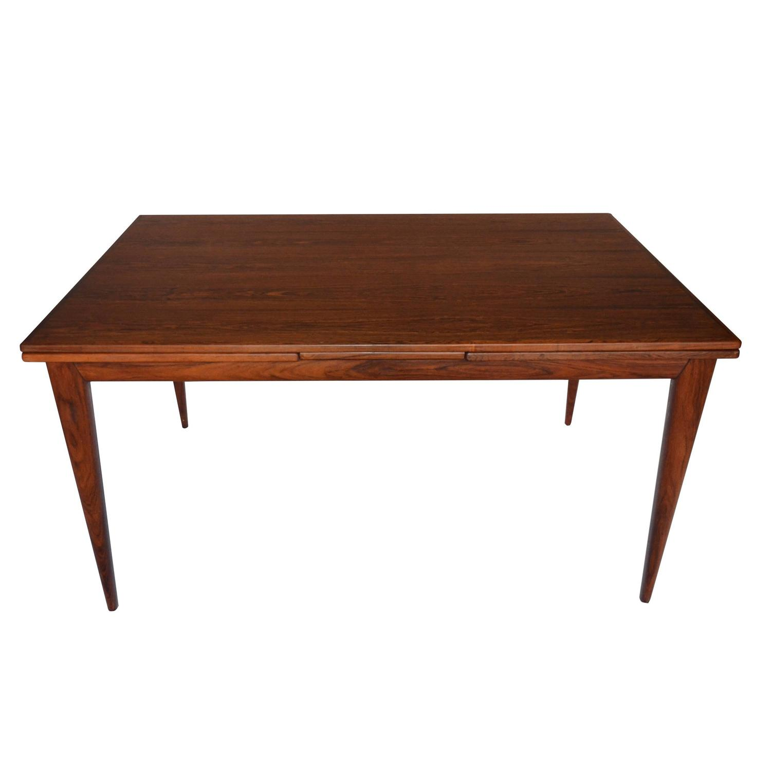 Rosewood Dining Table Niels Otto Moller Rosewood Dining Table Model No12 For Sale At