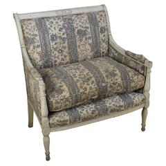 Large French Directoire Style Armchair