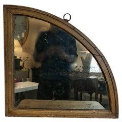 19th Century, French Quadrant Mirror