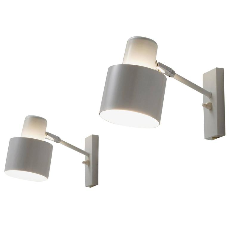 Pair of Danish Wall Lights  1