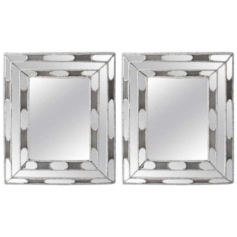 Hand Beaded, Sicilian Mirrors
