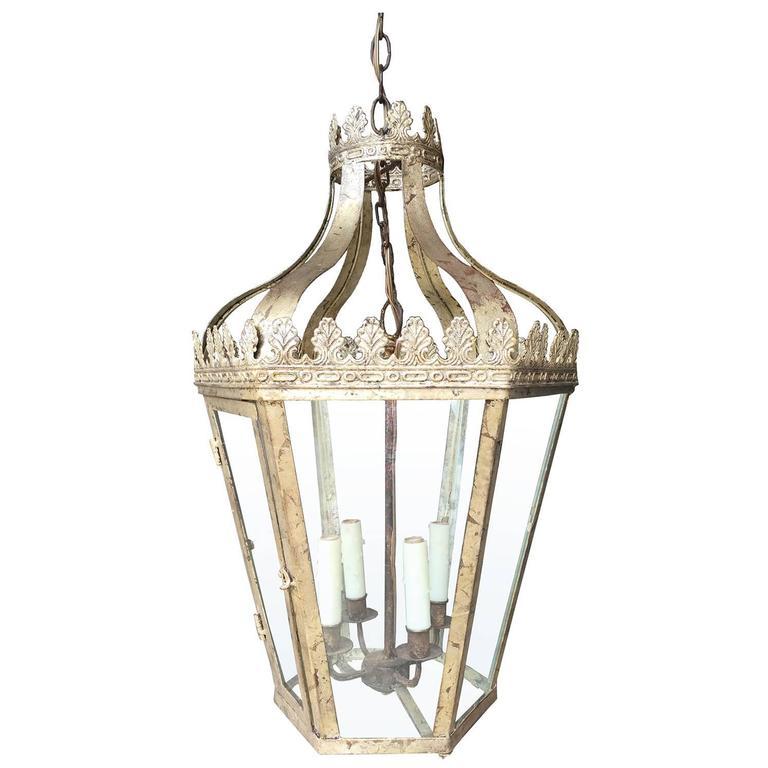20th Century Custom Silver Lantern