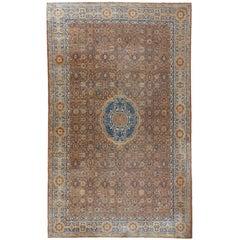 Antique Agra Carpet, circa 1890