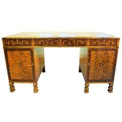 Rare Carl Malmsten Pedestal Desk