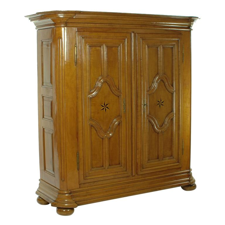 Planking Cupboard/Cabinet, circa 1770-1780, Probably Lorraine, Pear Tree Wood