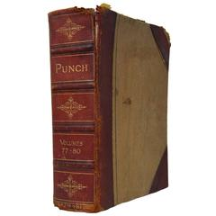 Old English book PUNCH