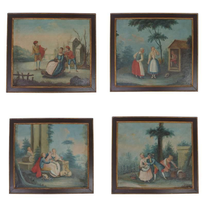 18th Century Romantic Italian Paintings