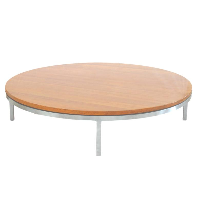 Round Coffee Table by Arne Jacobsen for Fritz Hansen