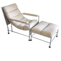 Lounge Chair and Ottoman by Warren McArthur