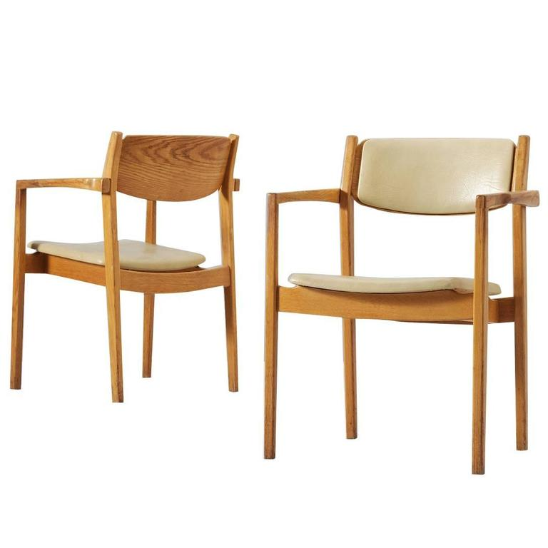 set of ten dining room chairs in solid oak for sale at 1stdibs