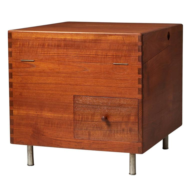 Bar Cabinet Model 8034, Designed by Hans Wegner for Andreas Tuck, 1956