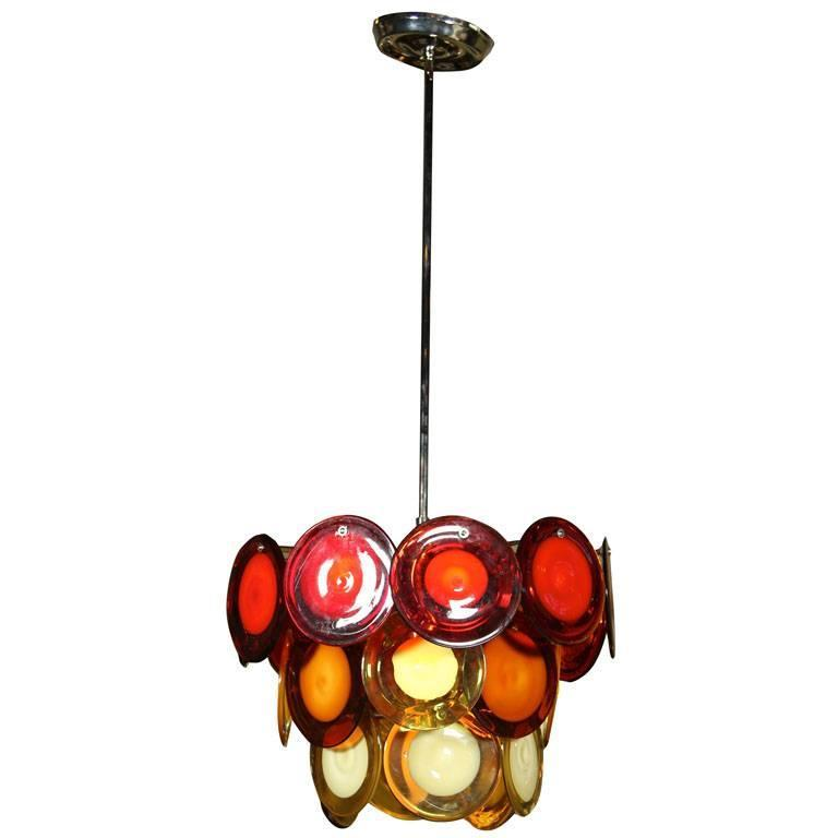 Vostisis Murano Glass Tiered Chandelier