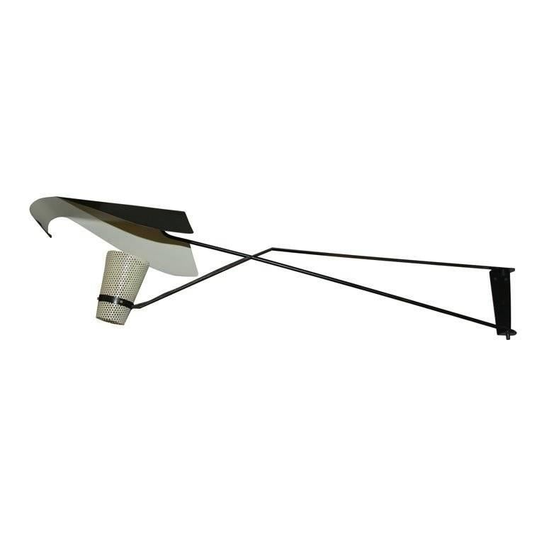 French Modernist Wall Fixture For Sale