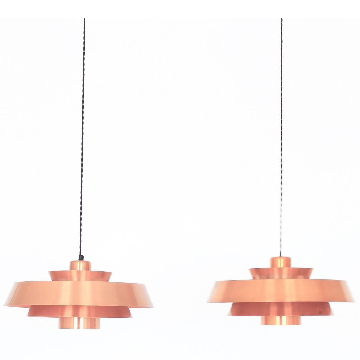 Vintage danish suspension lamps for sale at 1stdibs for Suspension 2 lampes