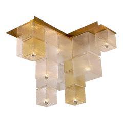 1960s Cube Ceiling Light