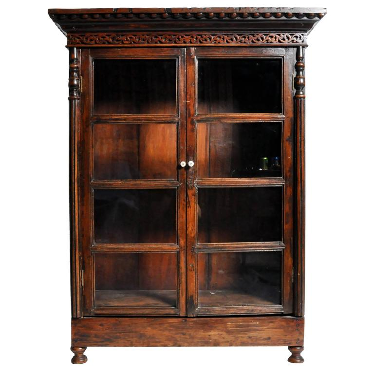 Teak Wood Pieces ~ Teak wood bookcase for sale at stdibs