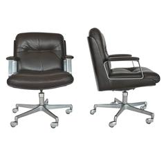 Italian Leather Office Chairs