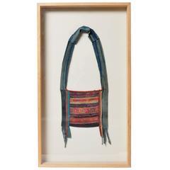 Framed Akha Tribe Hand Embroidered Shoulder Bag