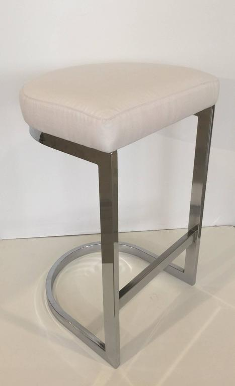 American DIA Chrome Bar Stool For Sale