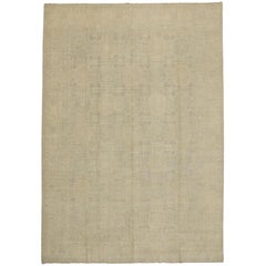 New Transitional Area Rug with Khotan Design and Minimalist Style